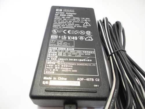 Hp AC Adapter Power Supply 0950-2880 18V 2.23A