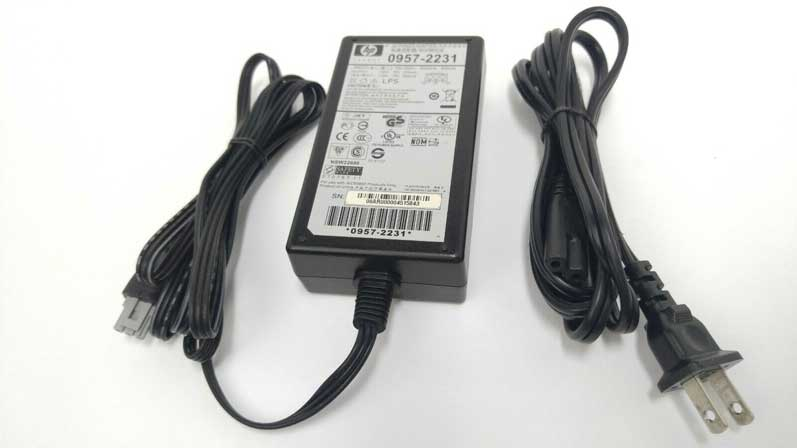 Hp AC Adapter Power Supply 0957-2231 +32V 375mA +16V 500mA