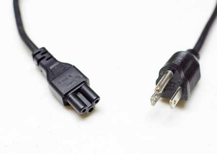 I-Sheng 3-prong power cord (laptop) IS-034 SP-305A - E55943