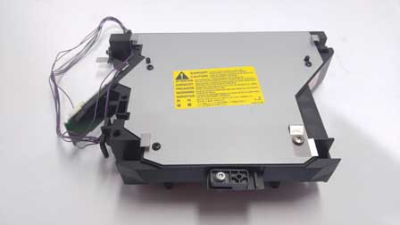 hp laserjet 4250tn laser scanner assembly - RM1-1111