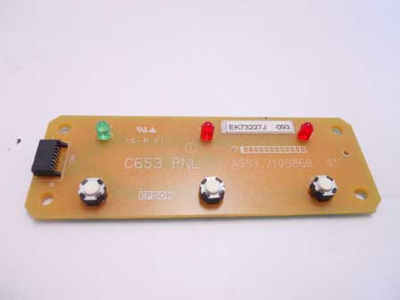 Epson Stylus photo R260 control panel board - C653