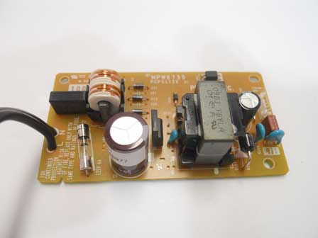 Brother MFC-J6490CW power supply board - MPW6730 PCPS1129