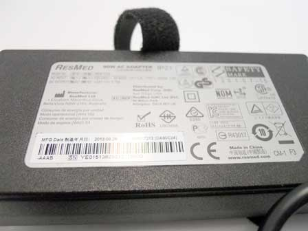 ResMed S9 series 90w external ac adapter (3 pin) - 369102
